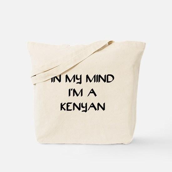 In My Mind I'm A Kenyan Tote Bag