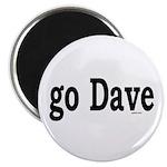 "go Dave 2.25"" Magnet (100 pack)"