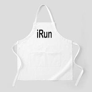 iRun black BBQ Apron