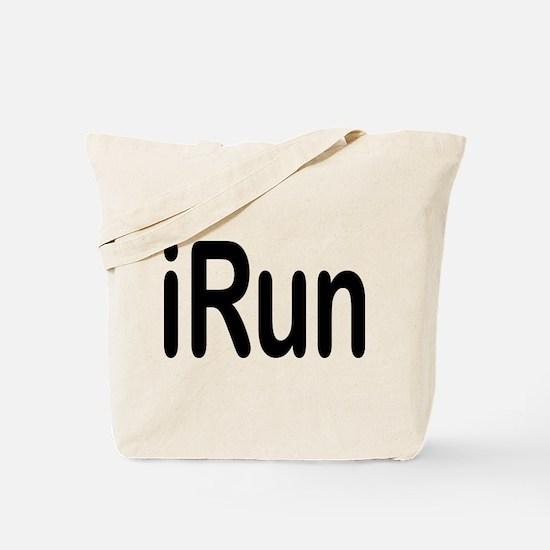 iRun black Tote Bag