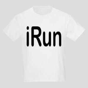 iRun black Kids Light T-Shirt