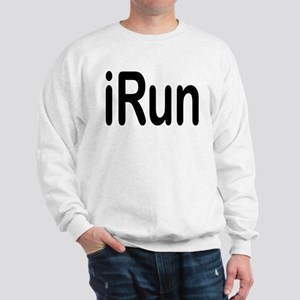 iRun black Sweatshirt