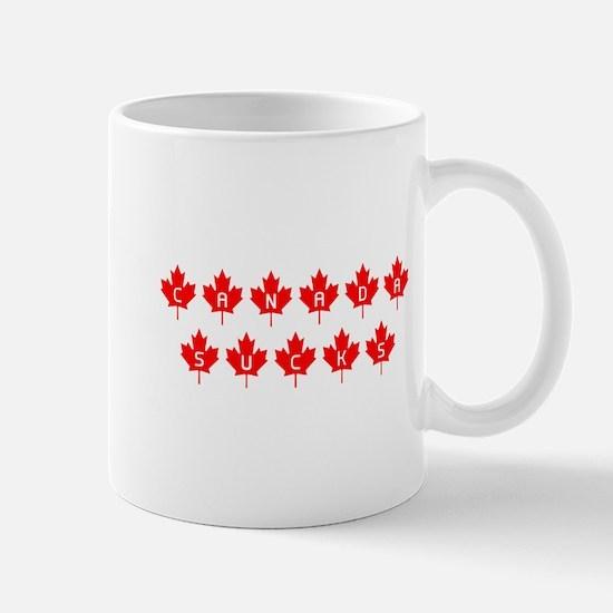 Canada Sucks Mapleleafs Mug