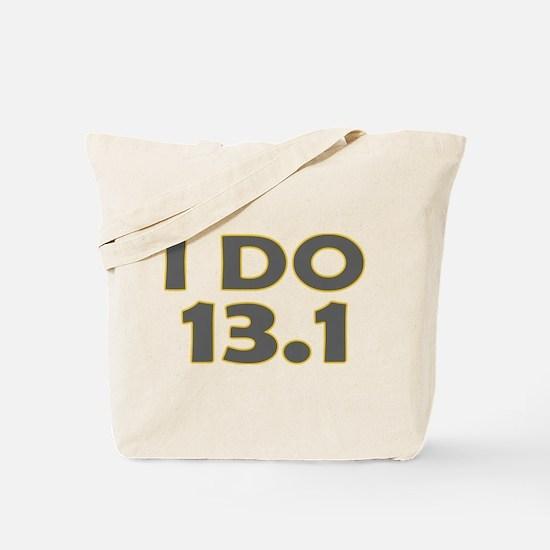 I Do 13.1 Tote Bag