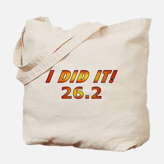 I Did It! 26.2 Tote Bag