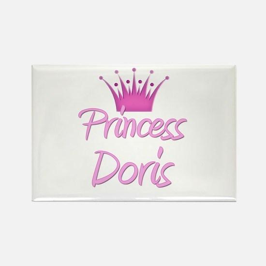 Princess Doris Rectangle Magnet