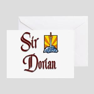 Sir Dorian Greeting Card