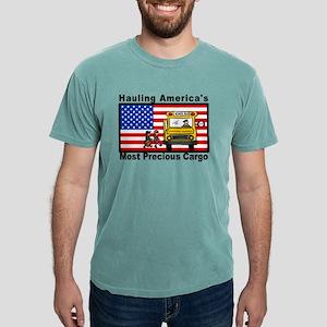School Bus Precious Cargo Ash Grey T-Shirt