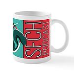 Sfch Podcast Squirrel Logo Mugs