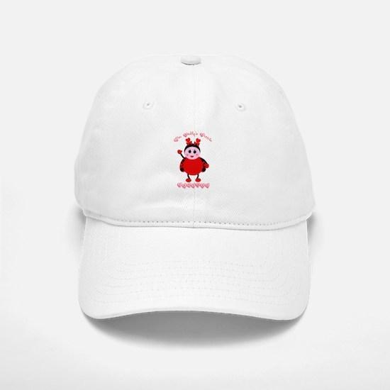Daddy's Lovebug Baseball Baseball Cap