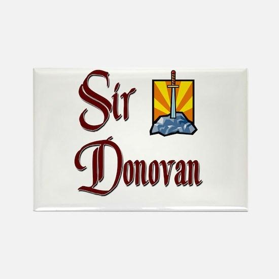 Sir Donovan Rectangle Magnet