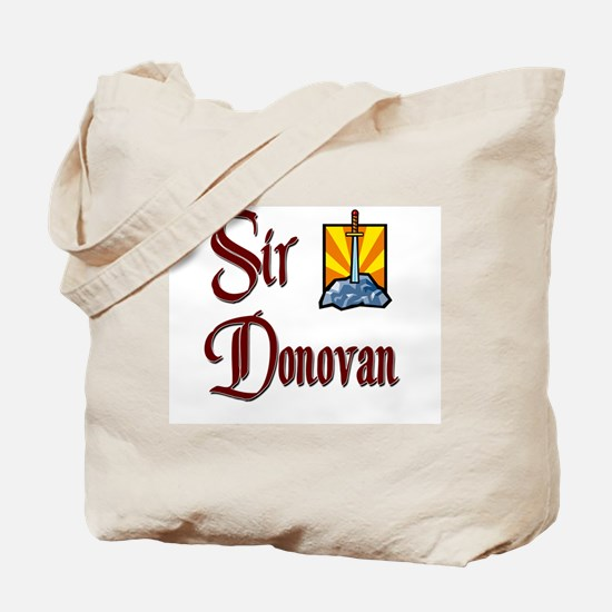 Sir Donovan Tote Bag