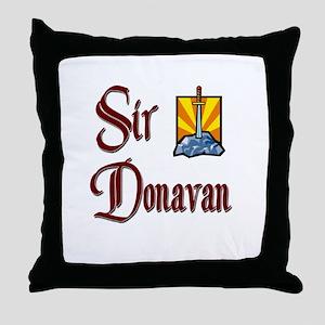 Sir Donavan Throw Pillow