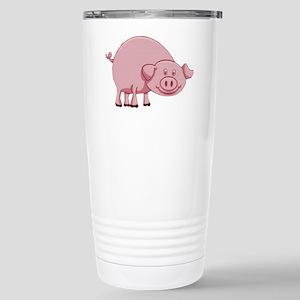 Happy Pink Pig Mugs