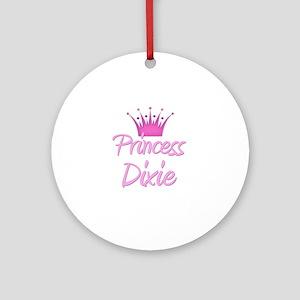 Princess Dixie Ornament (Round)