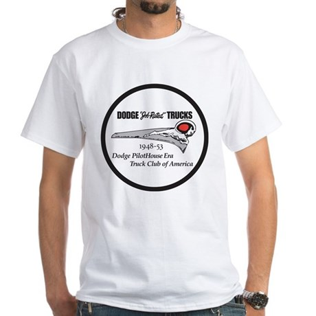 Dodge Pilothouse Truck Club White T-Shirt