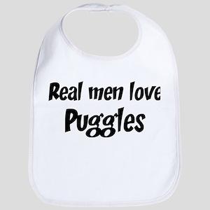 Men have Puggles Bib