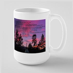 Lakota Great Spirit Prayer Large Mug
