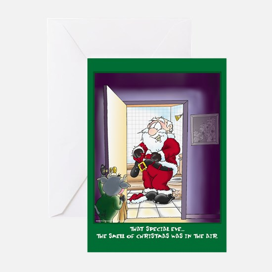 Smell of Christmas (Xmas Cards Greeting Cards 6 Pa