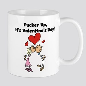 Pucker Up Valentine Mug