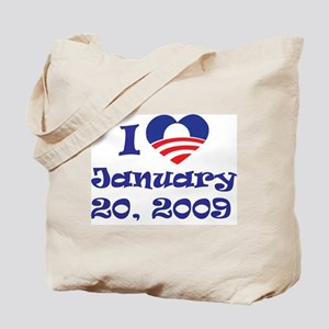 I love Jan 20 Tote Bag