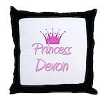 Princess Devon Throw Pillow