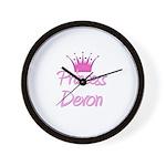 Princess Devon Wall Clock