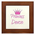 Princess Devon Framed Tile