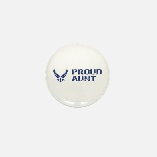 USAF: Proud Aunt Mini Button