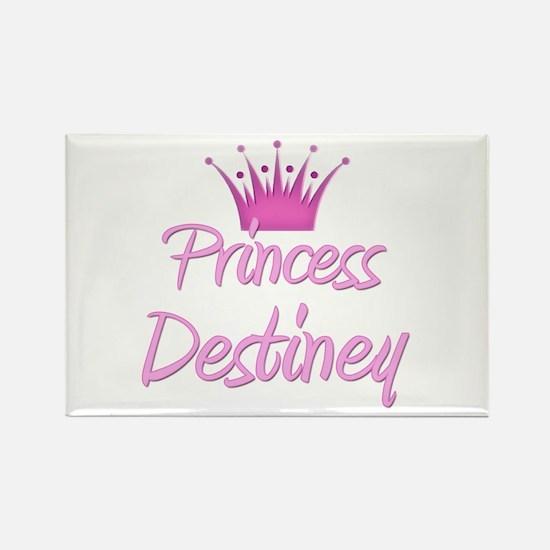 Princess Destiney Rectangle Magnet
