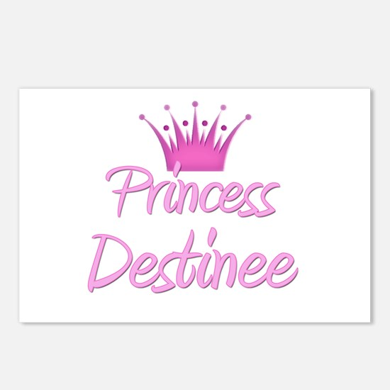 Princess Destinee Postcards (Package of 8)