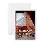 Scienza per Tutti Greeting Cards (Pk of 10)