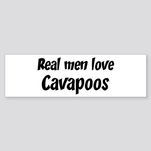 Men have Cavapoos Bumper Sticker