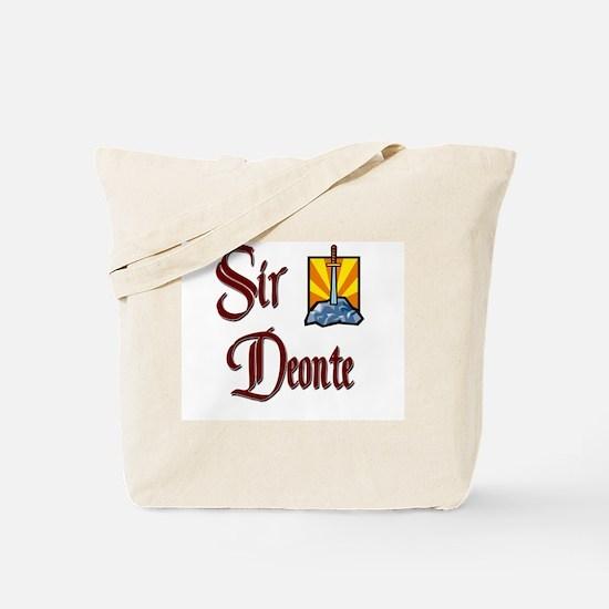 Sir Deonte Tote Bag