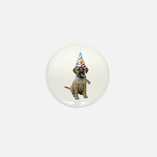 Puggle Party Mini Button