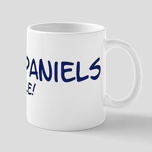 Field Spaniels Rule Mug