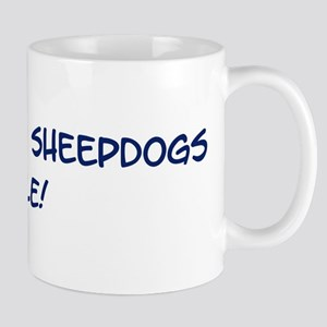 Old English Sheepdogs Rule Mug