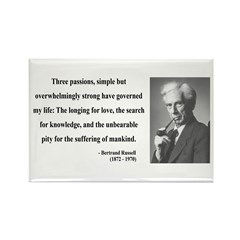 Bertrand Russell 7 Rectangle Magnet (10 pack)