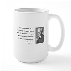 Bertrand Russell 7 Large Mug