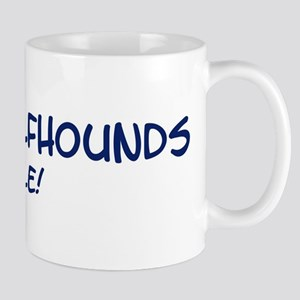Irish Wolfhounds Rule Mug