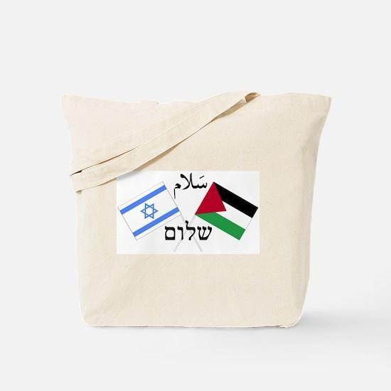 Israel and Palestine Peace Tote Bag