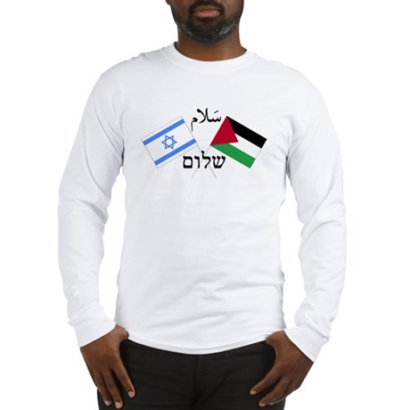 Israel and Palestine Peace Long Sleeve T-Shirt