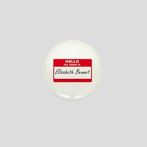 My Name Is Elizabeth Bennet Mini Button