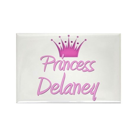 Princess Delaney Rectangle Magnet