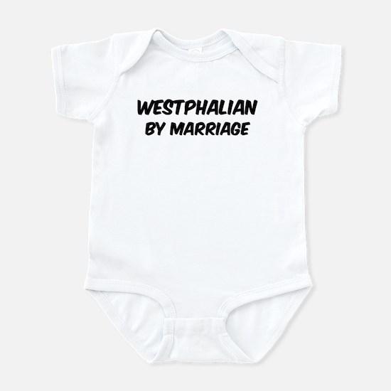 Westphalian by marriage Infant Bodysuit