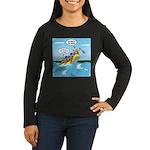 Whitewater Raftin Women's Long Sleeve Dark T-Shirt