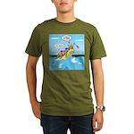 Whitewater Rafting Organic Men's T-Shirt (dark)