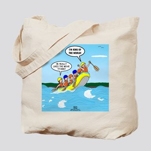 Whitewater Rafting Tote Bag