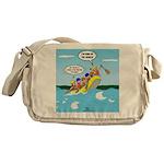 Whitewater Rafting Messenger Bag