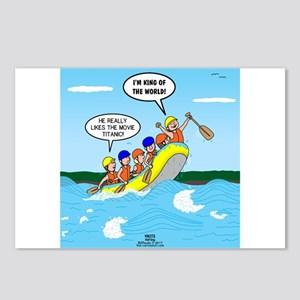 Whitewater Rafting Postcards (Package of 8)